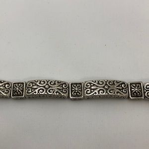 Jewelry - Silver plated magnetic closure bracelet